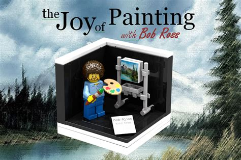 bob ross painting buildings lego ideas bob ross quot the of painting quot