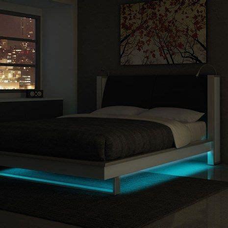 bedroom led strip lighting led strip lights for king size beds bedroom pinterest