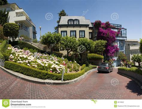 lombard street houses lombard street san francisco stock photo image 2674652