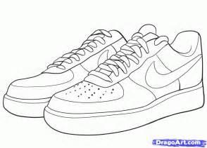 jordan shoe coloring pages kids coloring