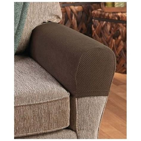 armrest covers stretchy  piece set chair  sofa arm protectors stretch  fit ebay