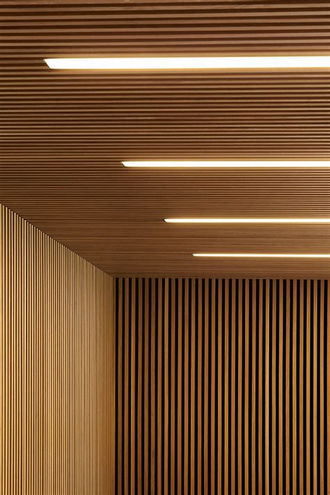 Wall Ceilings by Wood Slats Add Texture And Warmth To These Homes
