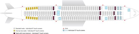 seating plan airbus a330 200 air transat