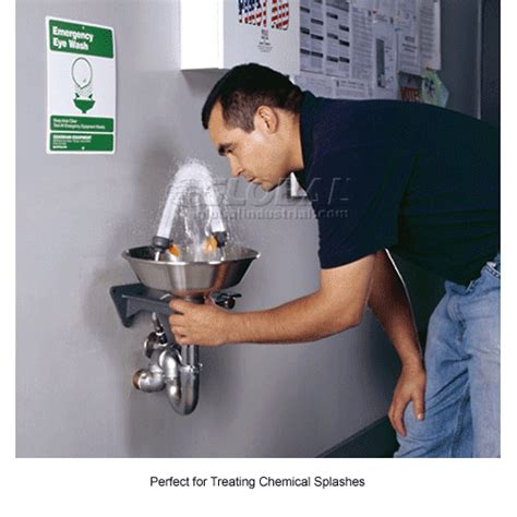 Plumbed Eyewash Station Requirements by Eyewash Stations Showers Emergency Eyewash Stations