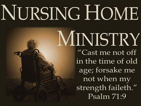 Church Of Nursing Home by Nursing Home Ministry New Beginnings Church
