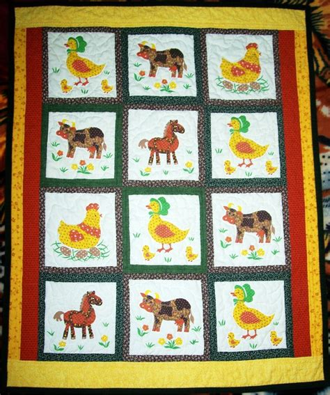 Farm Quilt Patterns by 96 Best Images About Quilt Ideas Farm Animals On