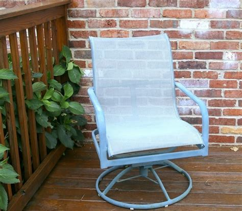 spray painting metal patio furniture the easy way to paint metal patio furniture petticoat junktion