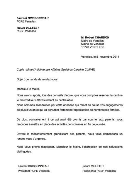 Exemple De Lettre D Invitation Pour Le Maire Modele Lettre Au Maire Document
