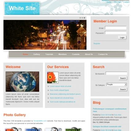 javascript templates for website html and javascript website templates choice image