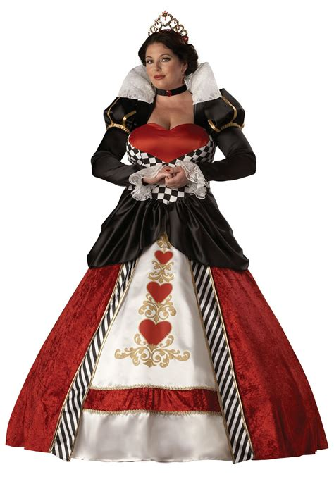 alice in wonderland halloween costume plus size and adult plus size queen of hearts costume
