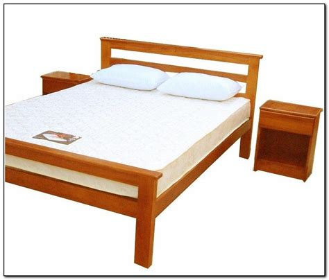 Plans For Bed Frames Bed Frame Wood Plans Home Design Ideas