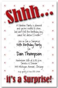 25 best ideas about surprise birthday invitations on