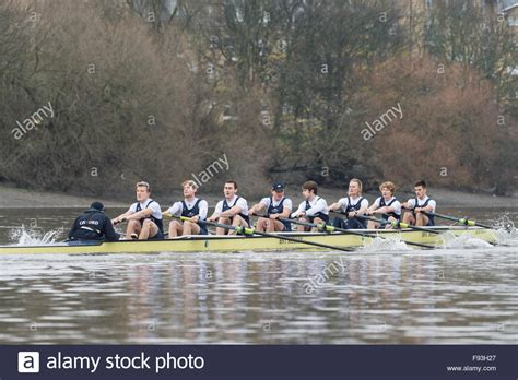 Thames River Boat Race 2015 | river thames uk 13th december 2015 boat race trial
