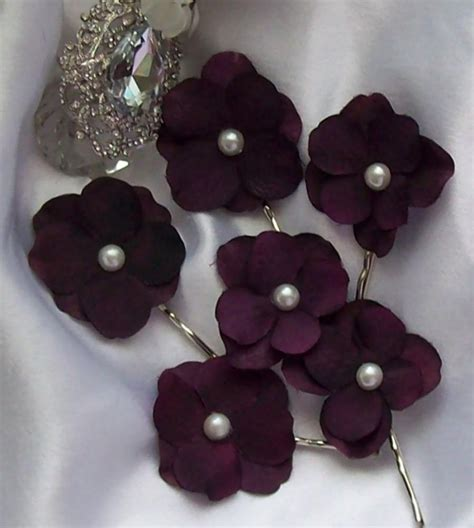 Wedding Hair Accessories Sale by Wedding Sale Rhinestone Center Wedding Eggplant Wedding