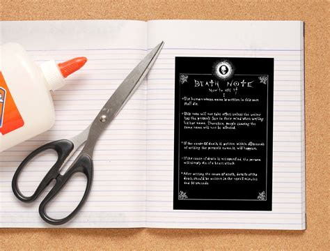 libro notes from a small how to make your own death note notebook 6 steps with pictures