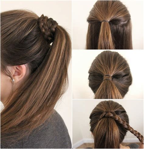 easy and hairstyles for medium pony hairstyles for medium length hair 2018 pony