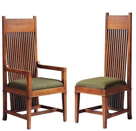 Frank Lloyd Wright Dana Thomas Large Arm And Side Chair