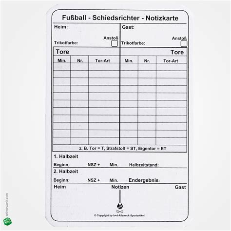 football referee information card template write on cards football soccer