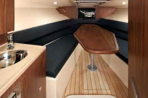 Small Boat Interior Design Corsair 32 Yacht Interior Luxury Yacht Charter