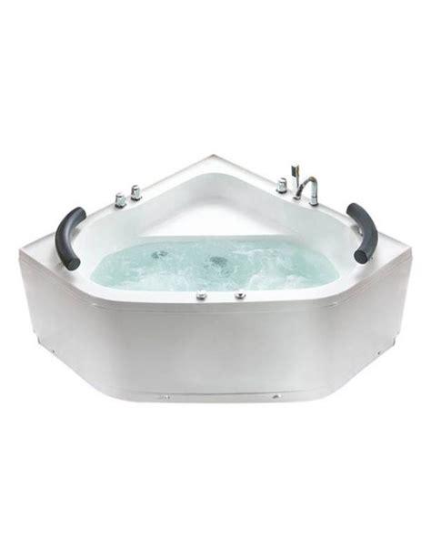 vasca idromassaggio 130x130 vasca da bagno idromassaggio 2 posti angolare misure