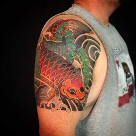 true colour tattoo york prices 125 koi fish tattoos with meaning ranked by popularity