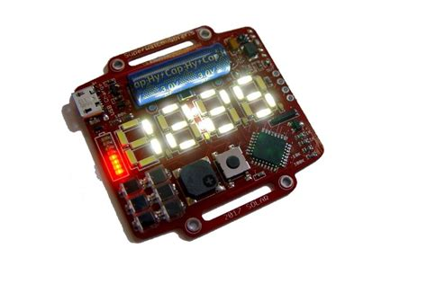 supercapacitor led supercapacitor powered arduino led wrist from bobricius on tindie