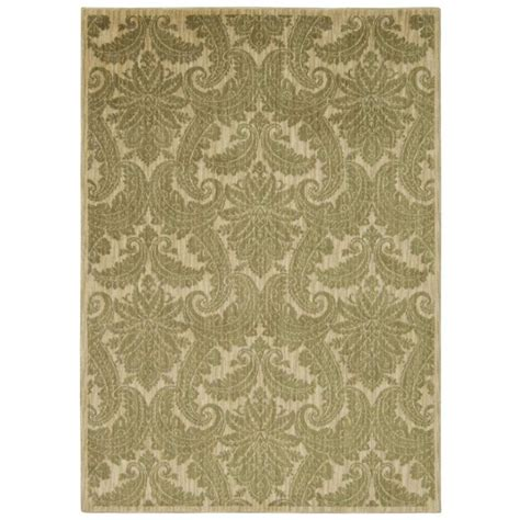 Overstock Area Rug Nourison Overstock Aristo Khaki 5 Ft 3 In X 7 Ft 5 In Area Rug 240835 The Home Depot