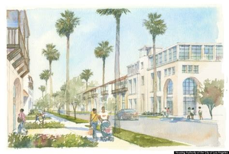 housing authority of the city of los angeles this is what los angeles could look like in 2033 huffpost