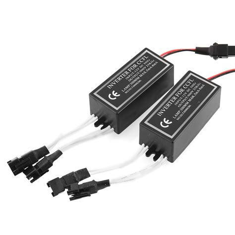 Ccfl Neon Inverter 3 Output Ballast Eye Water Murah 2x 4 outputs spare inverter ballast for ccfl halo replacement 12v
