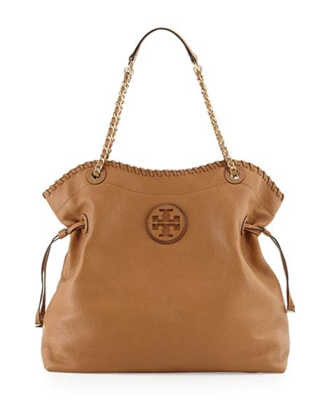 Burch Stacked Small Satchel And Marion Drawstring burch marion slouchy drawstring tote bag royal neiman