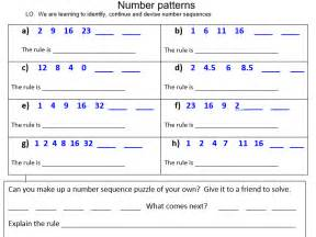 what is a pattern year 1 number patterns and sequences by araine teaching