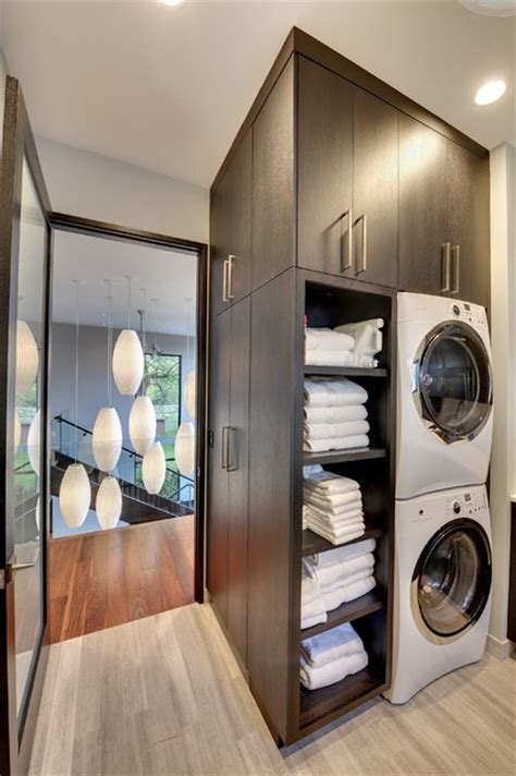 Contemporary Laundry Room Ideas Level Laundry Room Contemporary Laundry Room Minneapolis