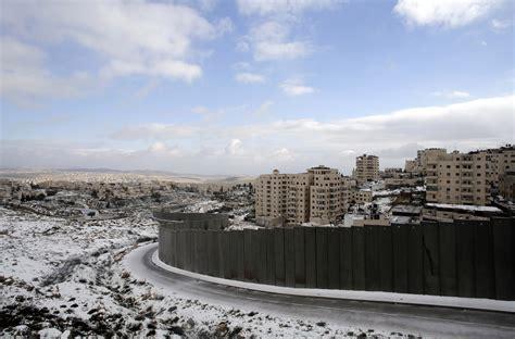 west bank bethlehem israeli separation barrier threatens to divide bethlehem