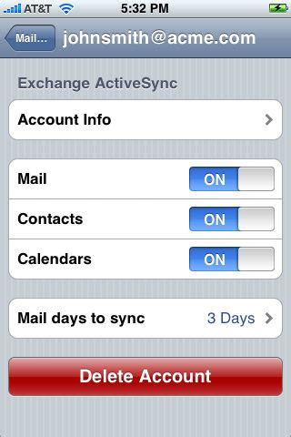 iphone j d unlimited e mail on your iphone iphone j d