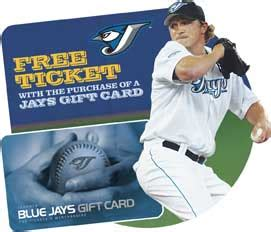 Mlb Gift Card - toronto blue jays gift cards toronto blue jays