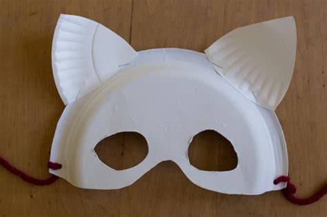 How To Make Masks Out Of Paper Plates - how to make paper plate masks and cardboard wings for