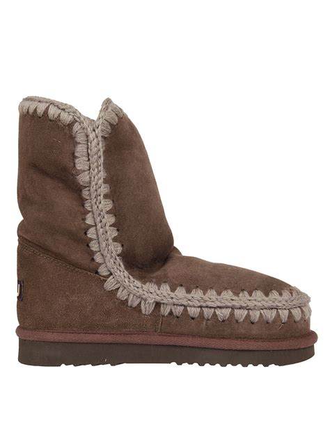 mou slippers mou mou eskimo 24 boots brown s boots italist