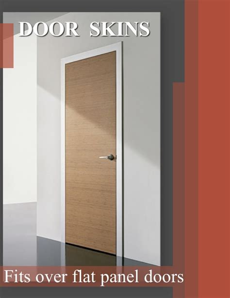 repair scratched or outdated doors with door skins