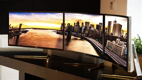 Monitor Ultra Wide lg introduceert eerste curved ultrawide ips monitor homecinema magazine