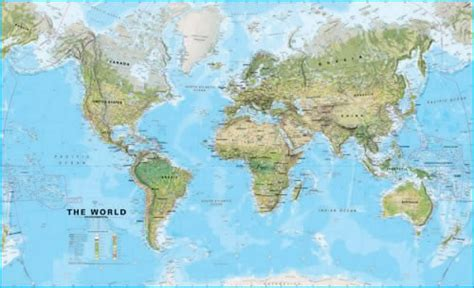 map international large world wall map environmental without flags wm008 maps international