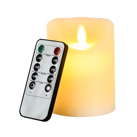 battery operated flickering lights led 10 key remote flameless flickering lights