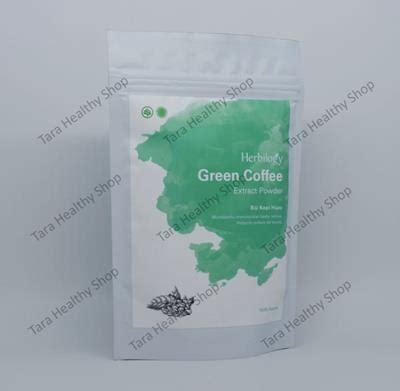 Green Fit Pelangsing herbilogy green coffee extract powder 100 100
