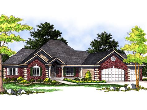 luxury ranch house plans reinhardt luxury ranch home plan 051s 0058 house plans