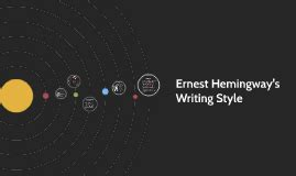 ernest hemingway biography prezi ernest hemingway s writing style by amanda ehr on prezi