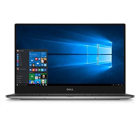 Dell Xps 13 Touchscreen Laptop dell xps xps9350 5341slv 13 3 inch qhd touchscreen laptop intel i7 with iris graphics 8