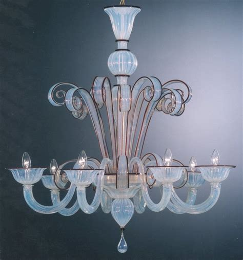Murano Glass Chandelier The Opaline Look Sean Wants For