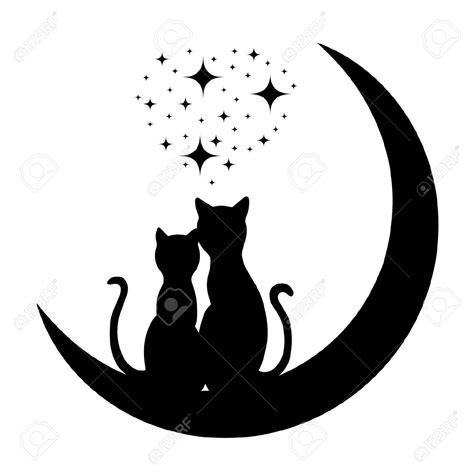 Tree Silhouette Wall Sticker resultado de imagen de silueta gatos enamorados gatos