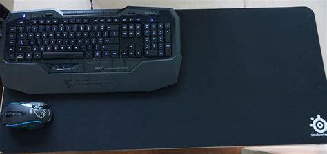Mouse Pad Lebar review steelseries qck mousepad jumbo untuk gamer fps