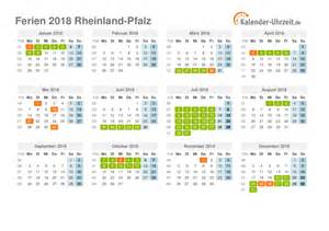 Kalender 2018 Ferien Thüringen Zum Ausdrucken Ferien Rheinland Pfalz 2018 Ferienkalender Zum Ausdrucken