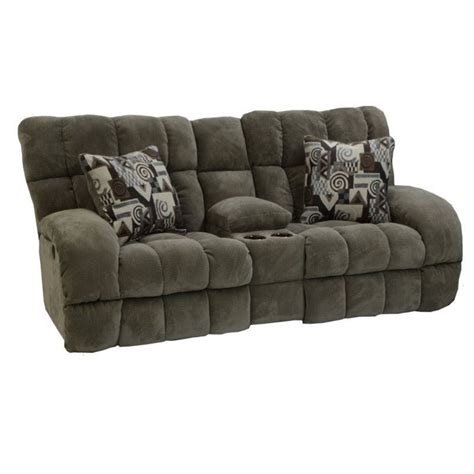 Catnapper Sleeper Sofa Catnapper Siesta Power Lay Flat Reclining Fabric Loveseat In Porcini 61769198349198449